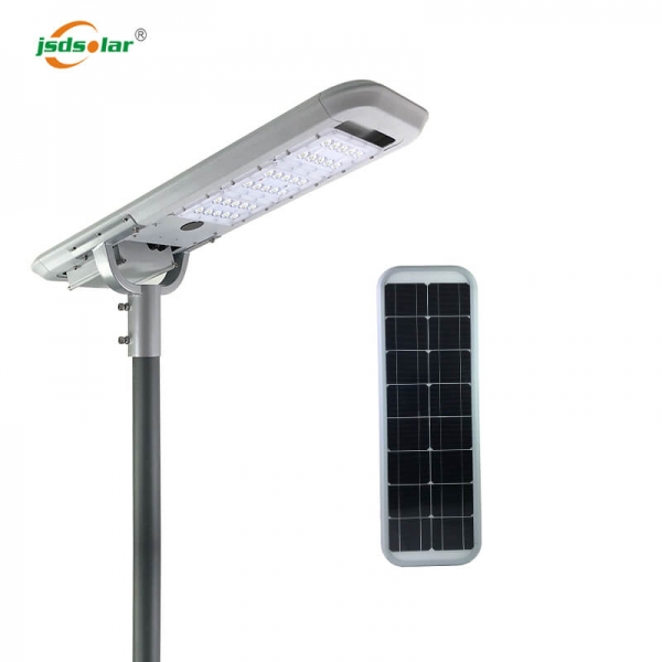 All In One 30w Solar Street Light With Pole