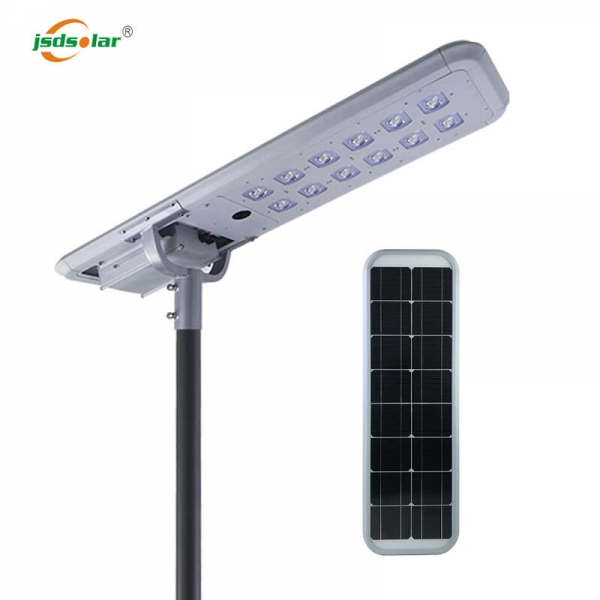 80W Integrated Solar Street Light With Remote